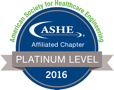 ASHE affiliated chapter - platinum level